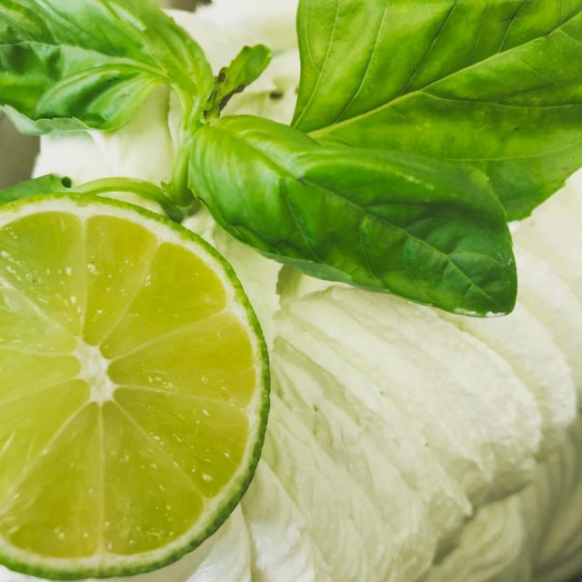 The Basil loves the lime fresh and even better withhellip