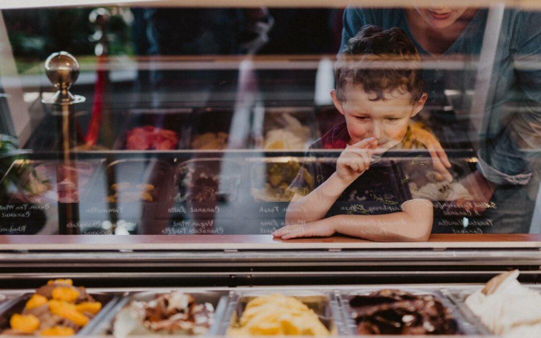 Island Gelato - Child chooses flavour